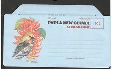 PAPUA NEW GUINEA-MINT AEROGRAMME BIRDS-1985.
