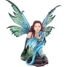 Fairy Ornament Dragon Whisper Figure Statue Fairies Pixie Figurine Nymph Decor