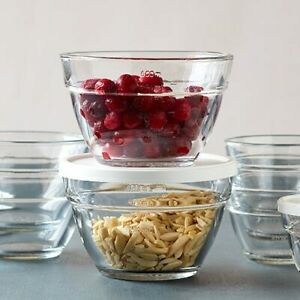 Pampered Chef 3-Cup Prep Bowl Set #1743 - Free Shipping