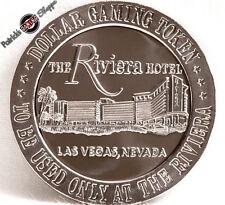 $1 PROOF-LIKE SLOT TOKEN RIVIERA CASINO 1966 FM FRANKLIN MINT LAS VEGAS NEVADA