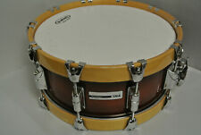 TAYE Studio Maple 14X6 SNARE in JAVA BURST w/WOODEN HOOPS for YOUR DRUM SET K120