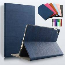 For iPad 2 3 4 5 6 7th Gen /Air 2 3 /Mini 5 /Pro Leather  Smart Stand Case Cover