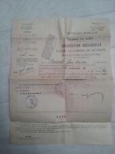 courier convocation conseil de revision 1960 st andre eure benoit jean claude