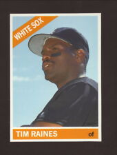 Tim Raines--1991 Baseball Cards Magazine Insert Card--Chicago White Sox