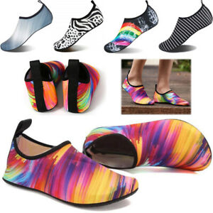 Mens Water Shoes Womens Sports Wetsuit Surf Diving Swim Pool Aqua Non Slip Socks