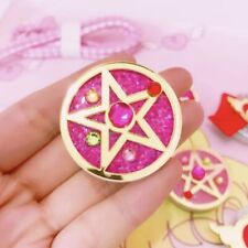 Anime Sailor Moon Brooch Hold Grip Stand Collapsible Phone Tablet Accessories