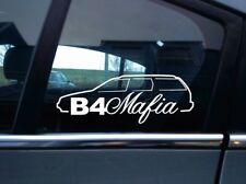 B4 Mafia VAG silhouette sticker - for VW Passat B4 35i estate wagon volkswagen