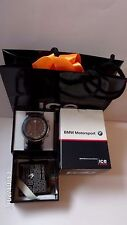New in Box Ice Watch BMW Motorsport Chronograph BM.CH.BRD.BB.L.14