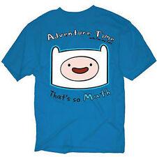 Adventure Time With Finn & Jake Finn Head Thats Math Cartoon Adult T Shirt S