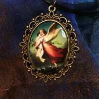 Guardian angel pendant -FREE SHIPPING!