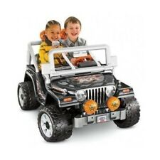 POWER WHEELS BATTERY TOY KIDS Jeep Electric Car Powered RIDE ON Vehicle 2 SEATER