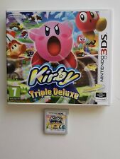 3DS Kirby Triple Deluxe Boxed