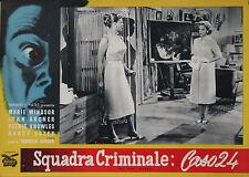 """NO MAN'S WOMAN"" Affiche originale italienne 1956 (Marie WINDSOR, Nancy GATES)"