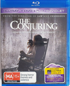 The Conjuring (Blu-ray, 2013) VGC - FREE POST