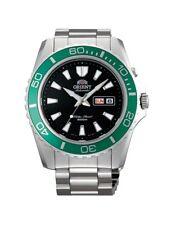 Orient Watch Mako XL FEM75003B9 EM75003B 200M Diver Black Dial Green Bezel