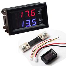 Dc 100v 100a Led Digital Voltmeter Ammeter Ampere Voltage Meter Current Shunt