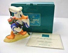 """WDCC Disney Classics Donald Duck """"Donald's Decision """" #11K412960 W COA"""