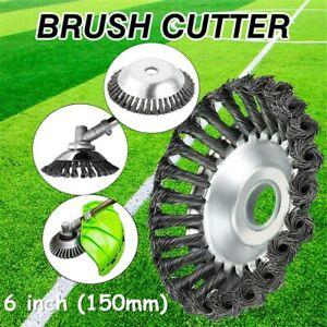 """6"""" Grass Trimmer Head Steel Garden Tool Brush Cutter Strimmer Mower Blade UK"""