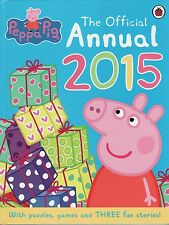 YOUNG CHILDREN'S ACTIVITY BOOK: PEPPA PIG: THE OFFICIAL ANNUAL 2015 - SALE PRICE