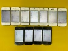 Lot of 47x iPhone 4s 16GB 8Gb Black White Mixed Carriers - Read - See Pictures