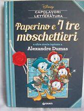 Disney - Paperino e i Tre Moschettieri e altre storie - Giunti Editore 2016
