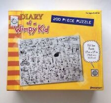 """Diary of A Wimpy Kid 200 Piece Puzzle 19"""" x 14"""" The Dog Days MPN #10504A New"""