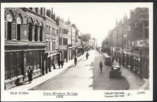 Berkshire Postcard - Old Eton From Windsor Bridge c.1923 - Pamlin Prints A2759