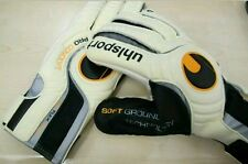 UHLSPORT PROFESSIONAL CONCEPT SOFT GROUND FOOTBALL GOALKEEPER GLOVES Authentic