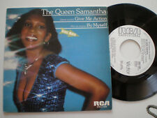 THE QUEEN SAMANTHA Give Me Action SPAIN WL PROM0 45 1982 NM