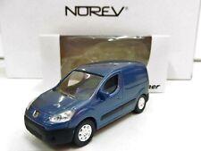 "Peugeot Partner Bleu 1/64 NOREV ""3 Inches"" Produit Neuf"