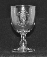 "EAPG Rare Goblet ""Horace Greeley & Benjamin Brown"" 1872 Presidential Election"