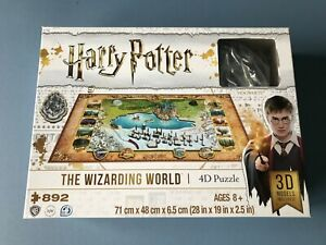 Harry Potter - The Wizarding World 4D Puzzle, 892 Pieces. Complete