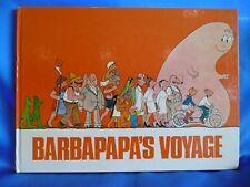 RARE BARBAPAPA BOOK BARBAPAPA'S VOYAGE ANNETTE TISON TALUS TAYLOR 1974 H/B WARNE