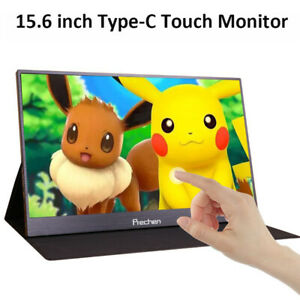 "15.6"" Touch Screen Portable Monitor HDMI IPS Ultra Slim 1920X1080 Type C Monitor"
