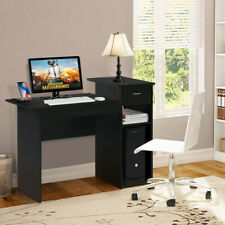 Computer Study Writing Desk Laptop Table Small Spaces with Drawer Home Office