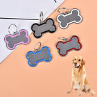 Pet Cat Dog ID Tags Personalized Engraved Name Tag Slide On Collar Tag for Pu SK
