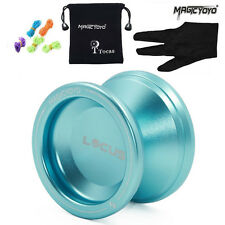 Responsive Pro Magic Yoyo V6 Metal Yoyos Ball for Beginners Kid gift +Bag+ GlOVE