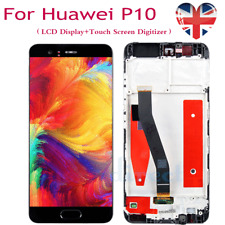 For Huawei P10 VTR-L09 LCD Touch Screen Display Digitizer with Frame Replacement