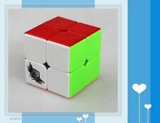New Cyclone Boys 2x2x2 Stickerless Rubik's Cube FeiChang Colored 2x2 Speed Cube