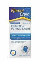 Efamol Efalex Gehirn DHA Rich-Formel Zitrone Flüssiges Omega-3