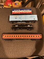 Lot Of 4 Walthers HO Scale Freight & Passenger Cars Well Loved SP B&A Pan Am
