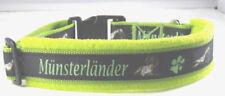 """Hundehalsband """" Münsterländer"""", L 50-55 cm Halsumfang ,"""