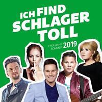 Ich Find Schlager Toll Frühjahr/Sommer 2019 (Sampler) 2 CD  NEU & OVP  08.03.19