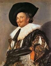 Old Masters Vintage Print, The Laughing Cavalier