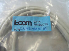 L-Com Csmn9Mm-10 Extension Cable,Sub 9 Molded Shielded,9 Pin Male/Male,10Ft