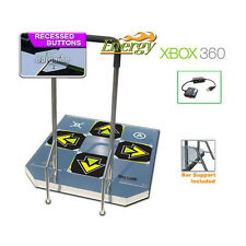 DDR ENERGY ARCADE METAL DANCE PAD PS2 XBOX PC Wii XBOX 360