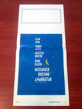 MISTERIOSO OMICIDIO locandina poster Allen Keaton Manhattan Murder Mystery AK100
