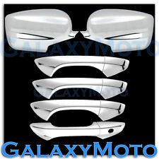 08-12 HONDA ACCORD Chrome plated Full ABS Mirror+4 Door Handle W/O PSG KH Cover