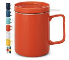 Tea Cup Mug Lid Infuser Stainless Steel Filter 500ml