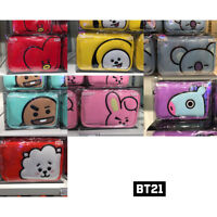 BTS BT21 Official Authentic Goods Enamel Pouch 7 characters_with tracking number